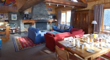 Chalet Les Arcs France:: Luxury Ski Chalet – Large Ski Chalet –  Chalet sleeps 12 in French Alps